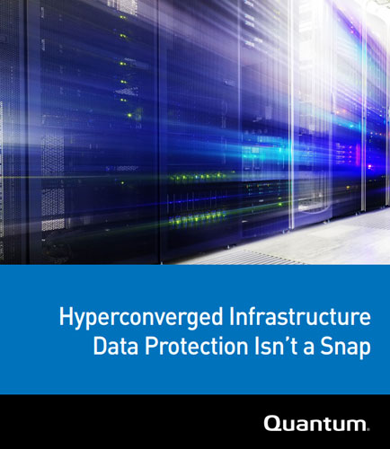 Hyper Converged Infrastructure: Data Protection Isn't a Snap