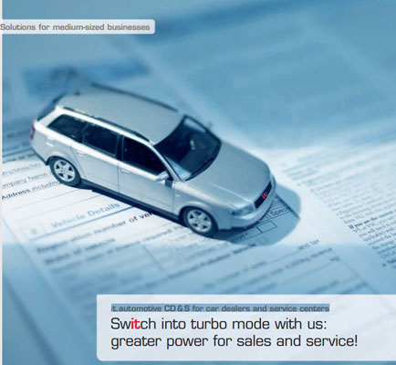 Switch into Turbo Mode with Us: Greater Power for Sales and Service!