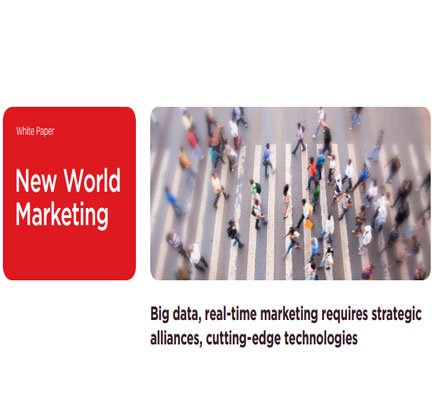 Big data, Real-time Marketing Requires Strategic Alliances, Cutting-edge Technologies