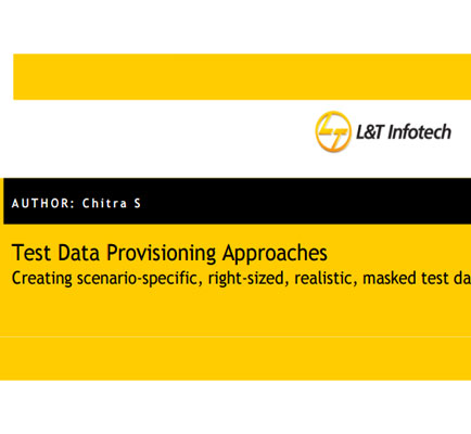 Test Data Provisioning Approaches