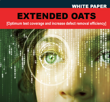 EXTENDED OATS: Optimum Test Coverage and Increase Defect Removal Efficiency