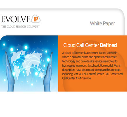 Cloud Call Center Defined