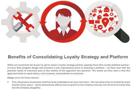 Why Consolidate Loyalty Strategy And Platform With A Single Vendor?