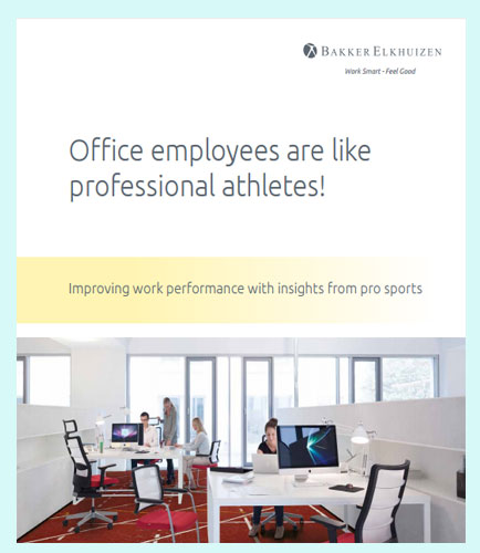 Office employees are like professional athletes