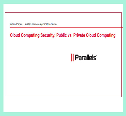Cloud Computing Security Public vs Private Cloud Computing