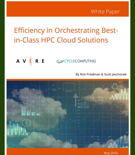 Efficiency in Orchestrating Best-in-Class HPC Cloud Solutions
