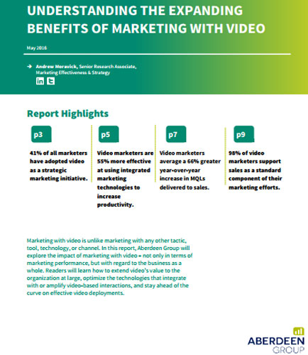 Understanding The Expanding Benefits Of Marketing With Video