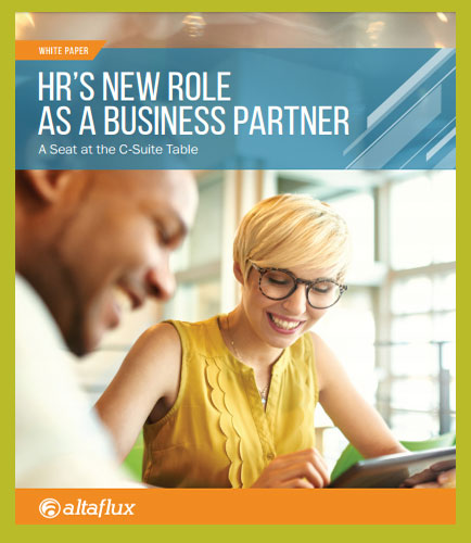 HR'S NEW ROLE AS A BUSINESS PARTNER : A Seat at the C-Suite Table
