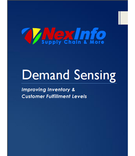Demand Sensing: Improving Inventory & Customer Fulfillment Levels