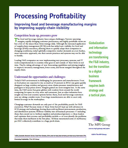 How to Improve Food and Beverage Profit Margins