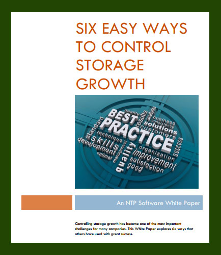 Six Ways to Control Data Storage Growth:Challenges In Data Storage Management