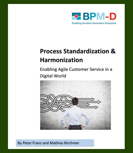 Process Standardization & Harmonization Improvement in The Digital World