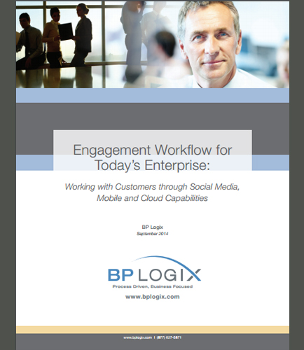 Customer Engagement Workflow for Enterprises Through Social Media, Mobile and Cloud Capabilities