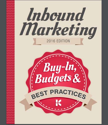 Inbound Marketing: Buy in,Budgets & Best Practices