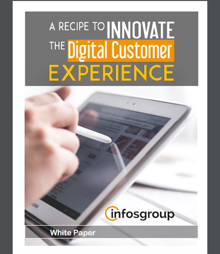 A Recipe to Innovate The Digital Customer Experience