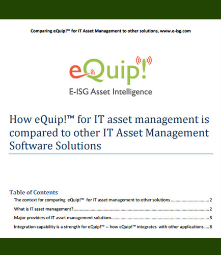 Comparison Between IT Asset Management Software Solutions