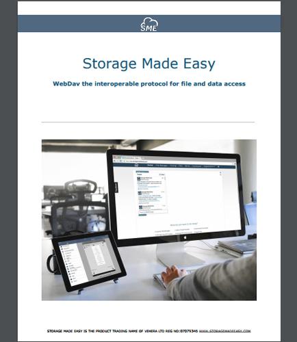 WebDav the Interoperable Protocol for File and Data Access