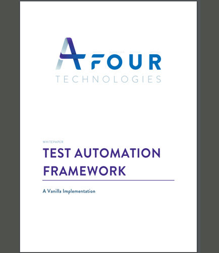Test Automation Framework: A Vanilla Implementation
