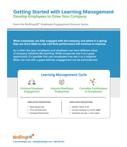 Getting Started with Learning Management :Develop Employees to Grow Your Company