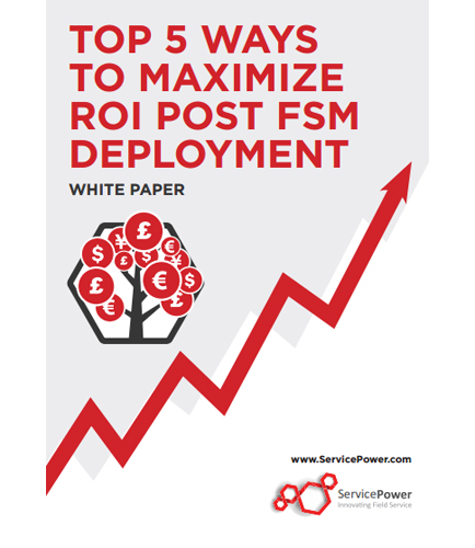 Top 5 Ways to Maximize ROI Post FSM Deployment