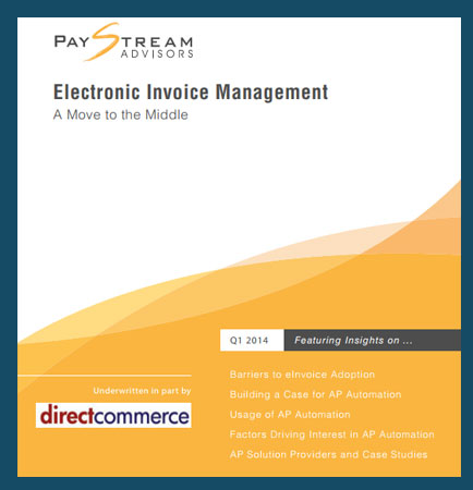 E-Invoicing Management: Move to the Middle