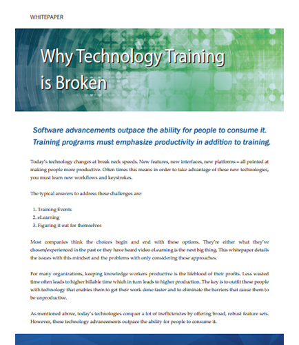 Why Technology Training is Broken?