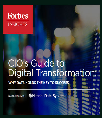 CIOs Guide to Digital Transformation: Why Data Holds The Key To Success
