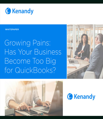 Fast Growing Companies are Leaving QuickBooks for Cloud ERP