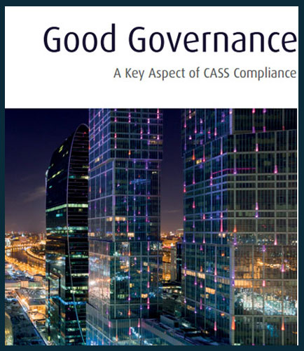 Good Governance A Key Aspect of CASS Compliance
