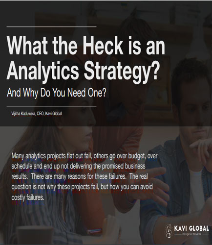 What the Heck is an Analytics Strategy?