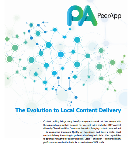 The Evolution to Local Content Delivery
