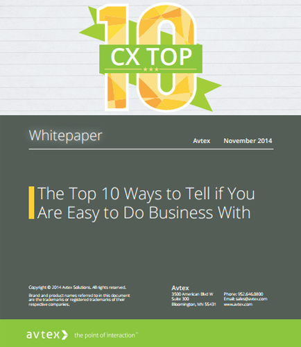 The Top 10 Ways to Tell if You  Are Easy to Do Business With
