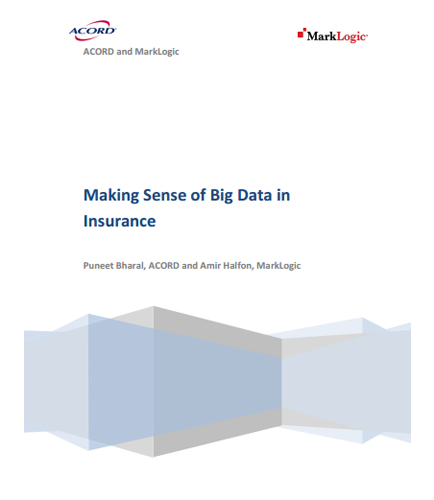 Making Sense of Big Data in Insurance