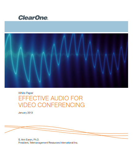 Effective Audio For Video Conferencing