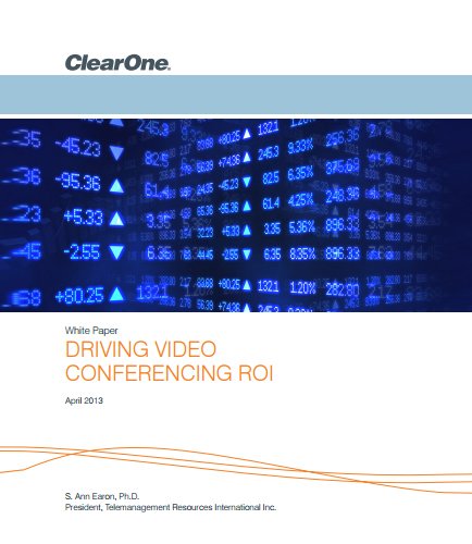 Driving video conferencing ROI