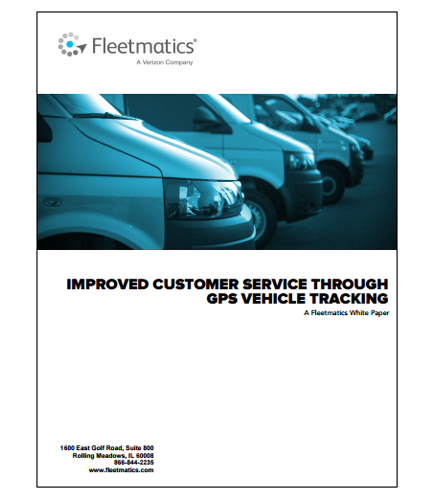 Improved Customer Service Through GPS Vehicle Tracking