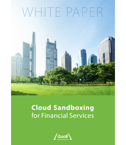 Cloud Sandboxing for Financial Services