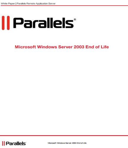 Parallels Remote Application Server on Nutanix Enterprise Cloud Platform Design VMware ESX & vCenter