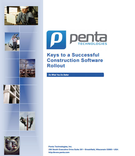 Keys to a Successful Construction Software Rollout