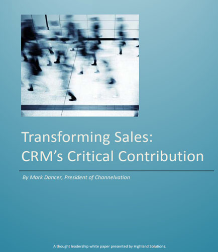 Transforming Sales:CRM's Critical Contribution