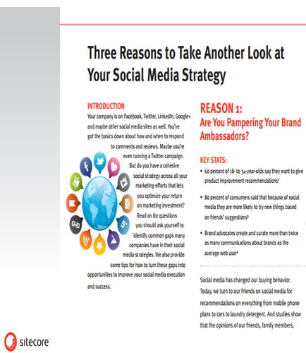 Three Reasons to Take Another Look at Your Social Media Strategy