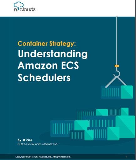 Container Strategy: Understanding Amazon ECS Schedulers