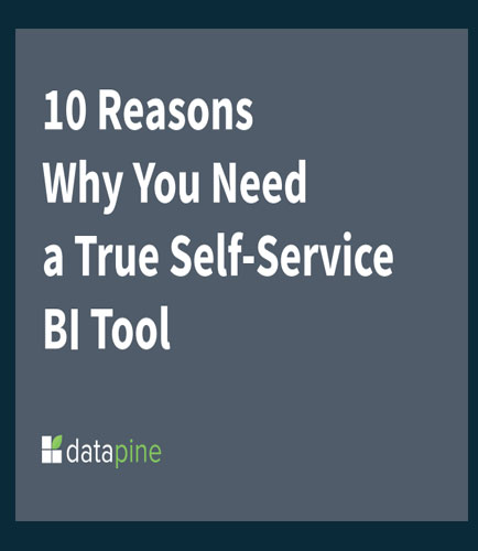 10 Reasons Why You Need a True Self-Service BI Tool