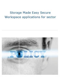 Secure Workspace Applications for Sector