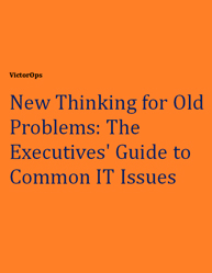 New Thinking for Old Problems: The Executive's Guide to Common IT Issues
