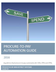 Guide to automate procure-to-pay process