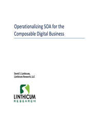 Operationalizing SOA for the Composable Digital Business