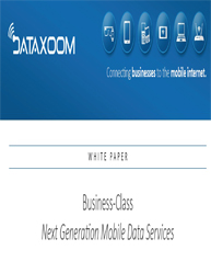 Business Class Next Generation Mobile Data Services
