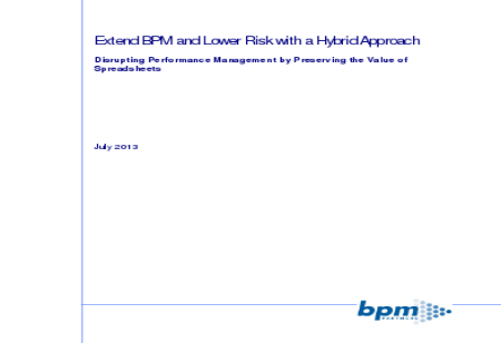 Extend BPM and Lower Risk with a Hybrid Approach