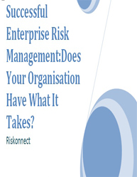 Successful Enterprise Risk Management: Does Your Organisation Have What It Takes?